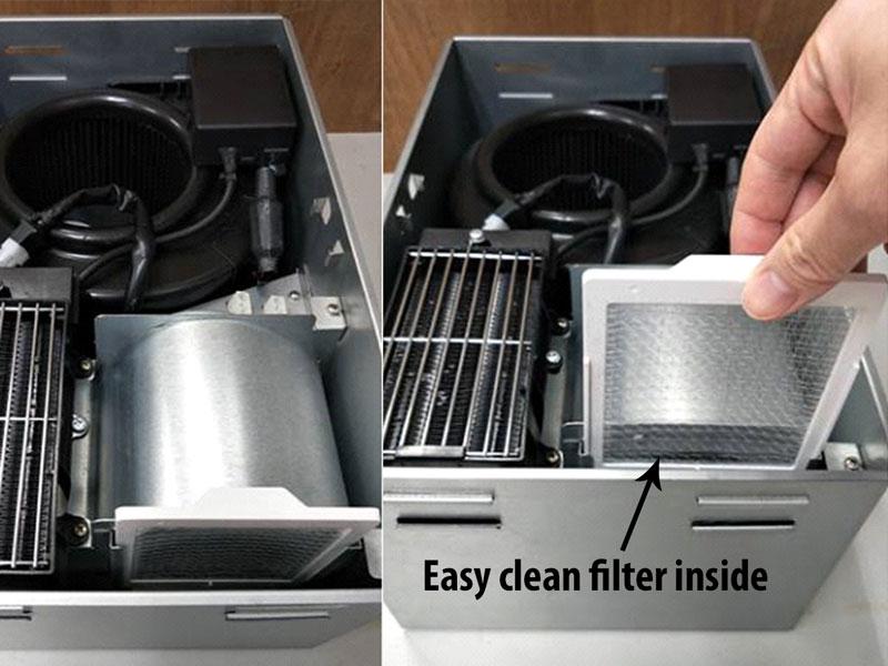 RAD110LED filter for heater