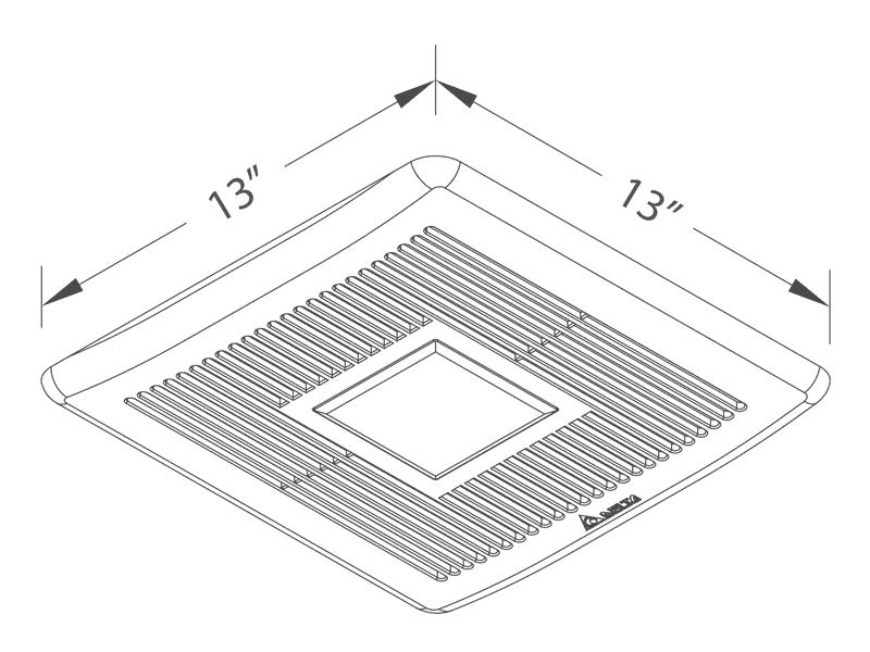 SLM80-110LED grille