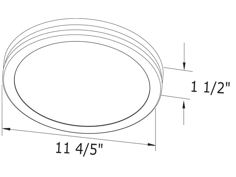 ITG80RLED-ADJ grille