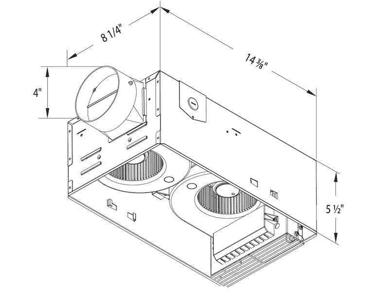 RAD80-DGL drawing housing