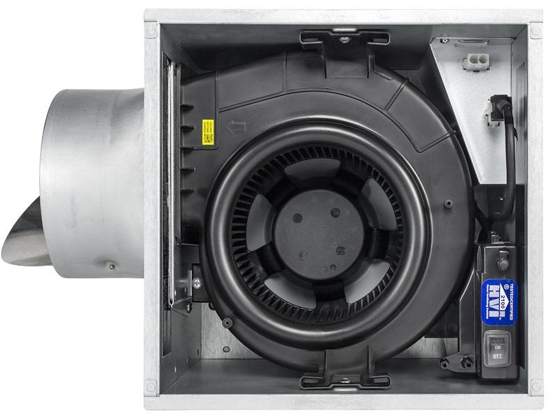Sig80 110eled 80 110 Cfm Fan Edge Lit Dimmable Led Light