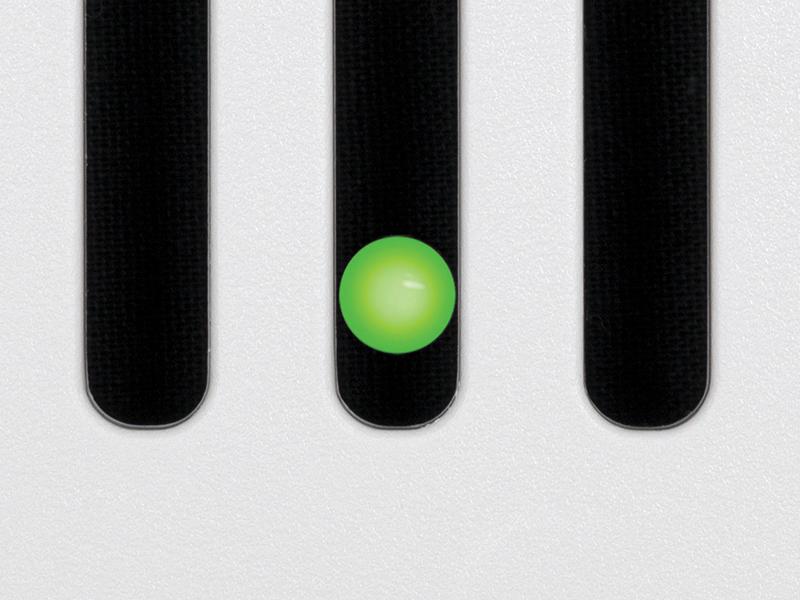 SIG80-110D Green LED indicator light
