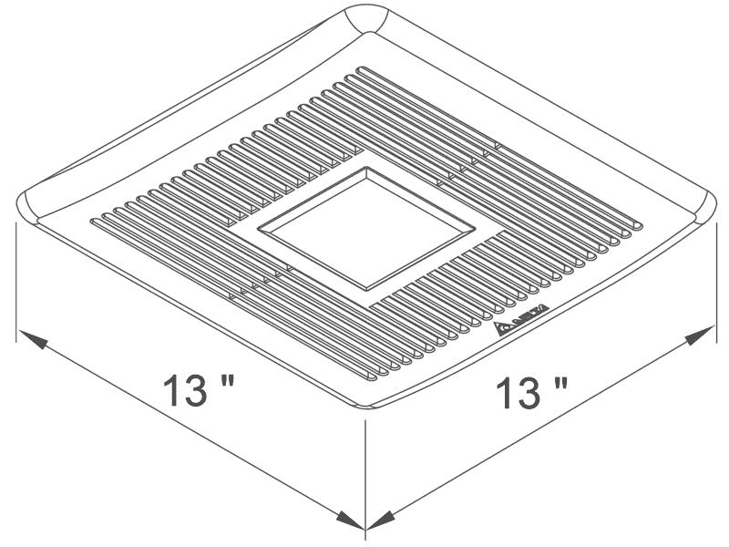 SMT150-200LED grille