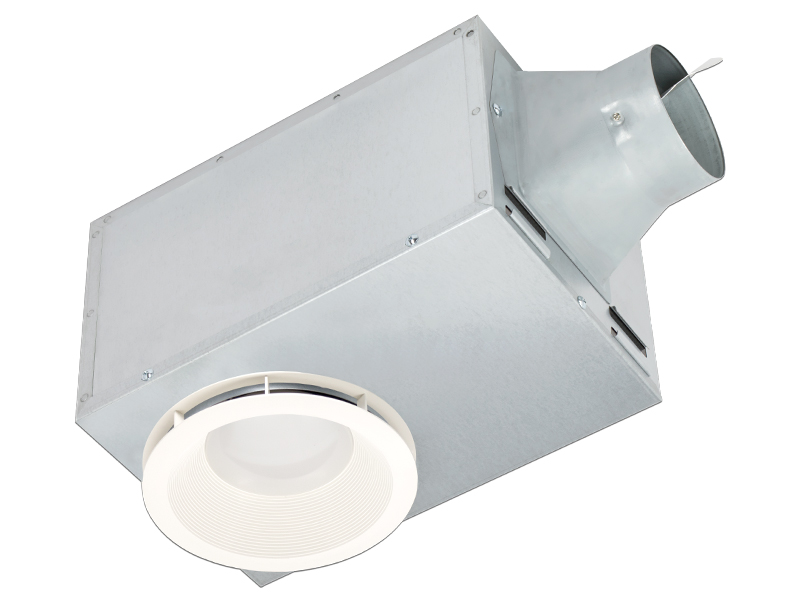 Breezrecessed Rec80led 80 Cfm Is The Only Recessed Fan Led Light And Night On Market With Energy Efficient Brushless Dc Motor For