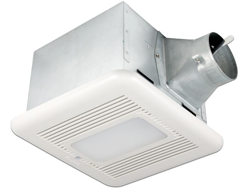 Delta Breez Bathroom Fans Sig80mled Breezsignature 80 Cfm: 80 CFM Exhaust Fan/LED Light/Night-Light